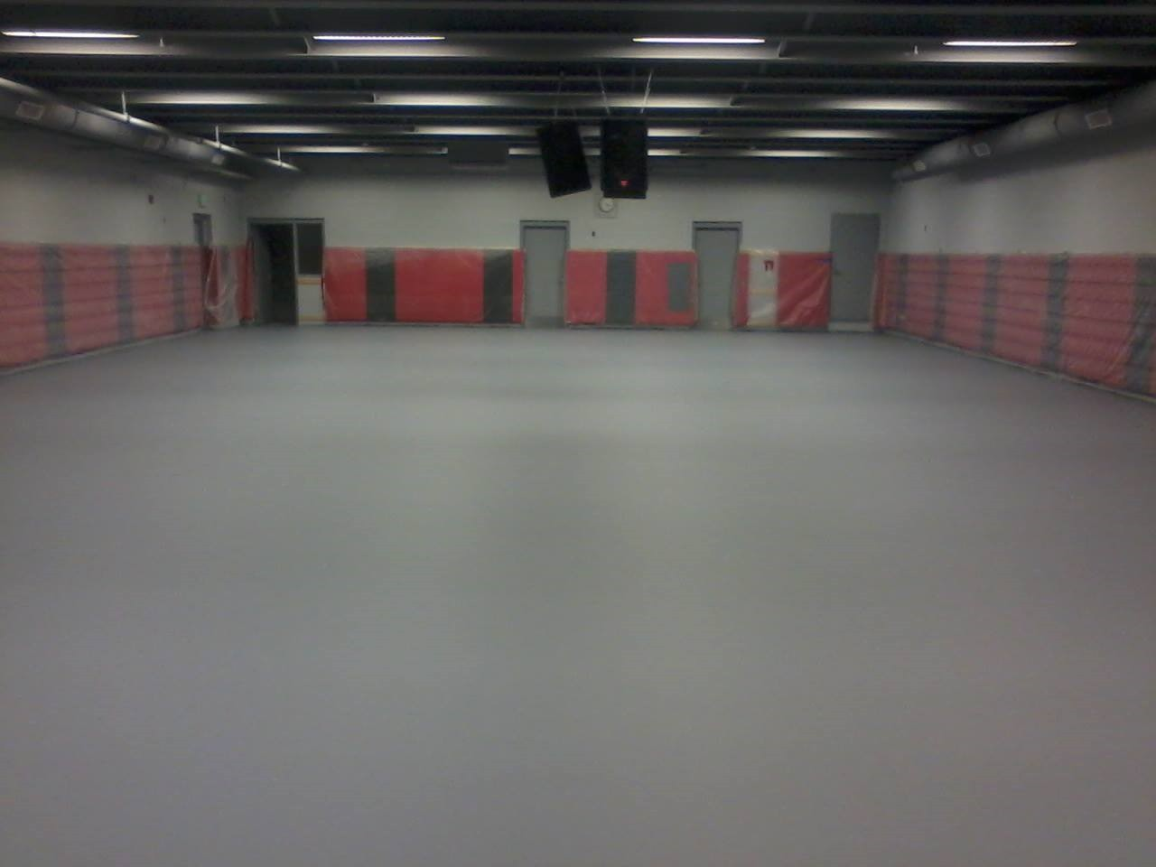 Gilbert Iowa Wrestling Room